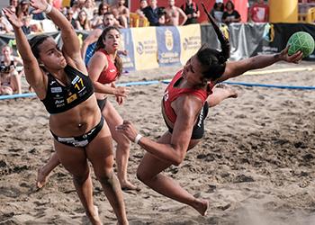 Seleção A Feminina de Andebol de Praia - Torneio Canárias Cup