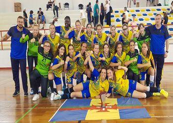 AA Madeira - vencedor do Torneio de Seleções Regionais de Iniciados Femininas 2018/ 2019