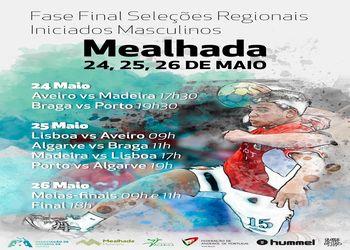 Cartaz Fase Final do Torneio de Seleções Regionais Masculinas - Mealhada