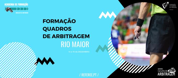 Formação Quadros de Arbitragem - Rio Maior